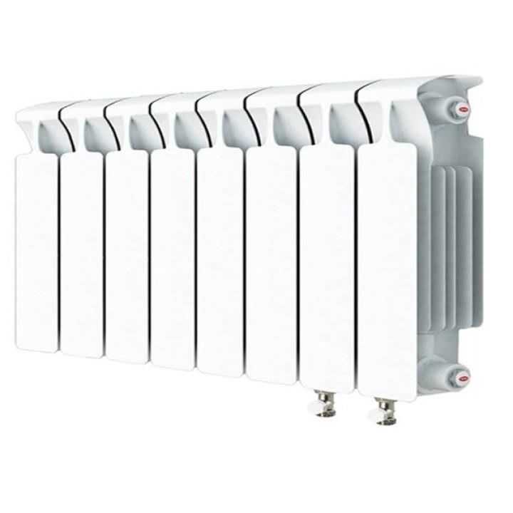 Биметаллический радиатор RIFAR Monolit Ventil 350 8 секций правый