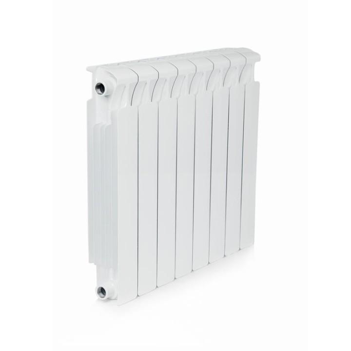 Биметаллический радиатор RIFAR Monolit Ventil 500 8 секций левый