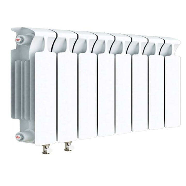 Биметаллический радиатор RIFAR Monolit Ventil 350 8 секций левый