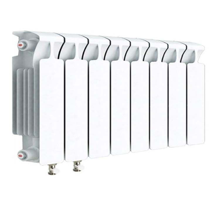 Биметаллический радиатор RIFAR Monolit Ventil 350 12 секций левый