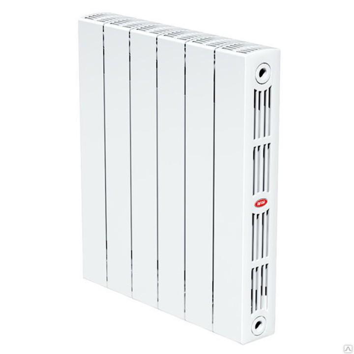 Биметаллический радиатор RIFAR SUPReMO Ventil 350 6 секций правый