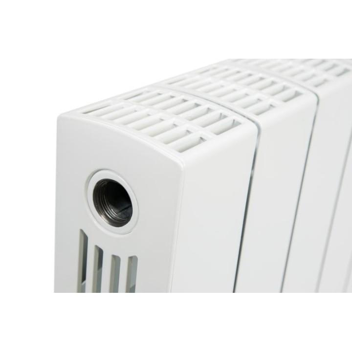 Биметаллический радиатор RIFAR SUPReMO Ventil 500 4 секции левый